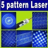 Free Shipping 3pcs/lot 5 wireless Laser Pointer with 5 Caps O-249