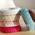 New cute color lace Fabric Tape, singal color, 10pcs/lot