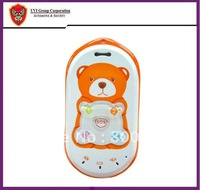 China Post Free Shipping! Bear mould 2-way talking Phone for Kid / child / Elder / Human GPS tracker with SOS Button GPS-PT301