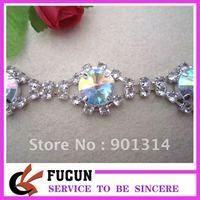 hot sale new design crystal trimming,free shipping,20yard/lot,high quality rhinestone,shining