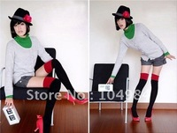 NEW 2011 Promotional  ladies cotton knee high socks women socks