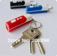 wholesale free shiping,50pcs/lot Multi-functional mini projection clock.Keychains projection clock,Flashlight Keychain
