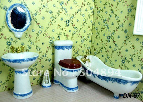 Как сделать ванную мебель для кукол своими руками