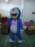 Lovely blue cat cartoon mascot costume free shipping