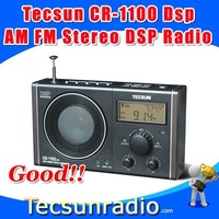 Retail-Wholesale Tecsun CR-1100dsp AM FM Stereo DSP Radio cr1100