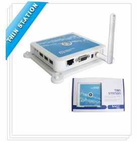 wifi thin client NP-N380W with window CE6.0 OS support 3port USB unlimited users