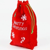 Hot sale!!! free shipping wholesale 10pcs/lot non-woven fabrics christmas gift bag with four patterns for your choise
