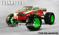 1/8 scale Brushless Electric Power Off-Road Truck with 11.1V 3600mAh Lipo Battery RTR 2.4G Transmitter