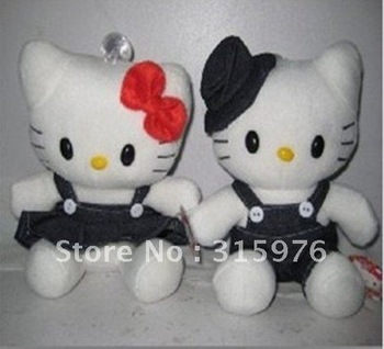 20pairs hello kitty plush toys speaker with stereo voice,mini speaker cartoon speaker for PC mp3 mp4 laptop free shipping,aks-44