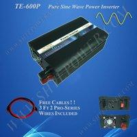 Home power inverter/ dc-ac power inverter/ pure sine wave solar inverter 24v to 230v 600w
