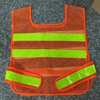 Mesh Reflective Vest Hi Vis Safety Vest-Free Size