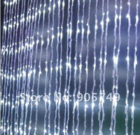 free shipping led Wedding Lights Christmas lights waterfall light 6*3m door light wedding decoration