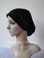 H333 latest design cotton plain tube underscarf,free shipping,fast delivery,assorted colors