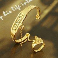 fashion jewelry bangle 18k yellow gold filled baby bangle jewelry jewelrlry bracelet bangle