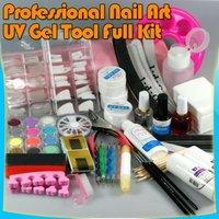Professional NAIL ART FULL SET UV GEL KIT MANICURE TOOL 29#