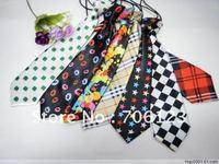Children Tie Kid Necktie Boys Girls Ties Baby Scarf Rubber Band Neckcloth Christmas Gifts 50PCS