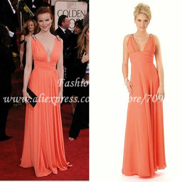 Long Celebrity Dresses 36