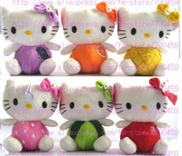 Fruit Series 12 PCS hello kitty Children's lovely doll soft Toy Plush Toys +Free Shipping History: Reviews .