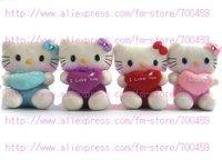 Fruit Series 12 PCS hello kitty Children's lovely doll soft Toy Plush Toys +Free Sh