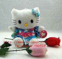 Fruit Series 12 PCS Kimono Hello kitty Children's lovely doll soft Toy Plush Toys +Free Sh