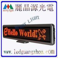LED Mini Board Red 16*128Pixels MOQ 2pcs free shipping  5V Mini Led Display/Led message Board/Car Led Sign