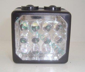 FREE SHIPPING!NEW!KL3LM 12LEDS black color,coal miner lamp/led mining light,3.7v,14hour,800lumen(lm),rechargeable li ion battery