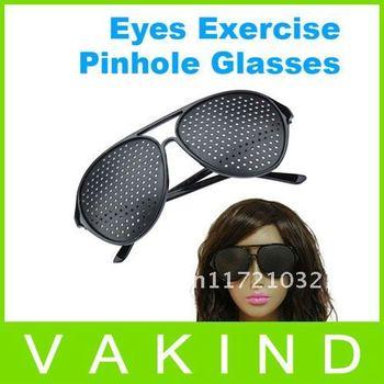 Free Fast Shipping Vision Care Pinhole Pin hole Eye Eyes Glasses Eyewear Wholesale