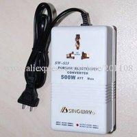 F458A  Travel Transformer Voltage 110V-220V and 220V-110V 500W  AC 220V to 110V Converter