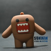 HOT Cute monster(brown) shape design 2G/4G/ 8GB USB Flash Drive U disk (100%real capacity)