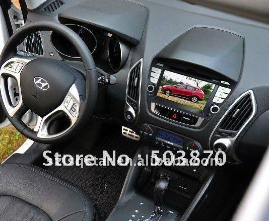 Free shipping CAR PC DVD system with GPS Hyundai ix35 ST-8947(China (Mainland))