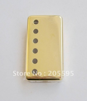 Pair GOLD Metal Guitar Humbucker Pickup Covers Set