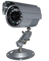 CCTV Combo kit, 4 color ccd camera,12pcs leds,view distance 15m,4way splitter, pwoer,1/3 SONY 480 TVL CCD
