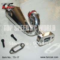 Exhaust Pipe/Tuned Pipe for 1/5th RC Gas Model Car/for HPI BAJA,Buggy, Free shipping!!