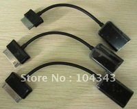 For Samsung Galaxy Tab 8.9 10.1 OTG USB Cable,20pcs/Lot,High Quality,Free Shipping