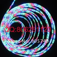 SMD3528 RGB flexible led strip lights waterproof horse race 5m+Controller+Power