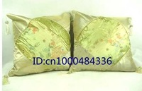 lowest price for wholesale 10 pairs silk cushion, polyester cushion, chinese traditional cushion bag +Free shipping!