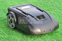 lawn robot/lawn mower/auto mower, auto work/recharge, rain sensor, 3 hrs working, 85W, 6M remote control, Cutting height: 3-6cm