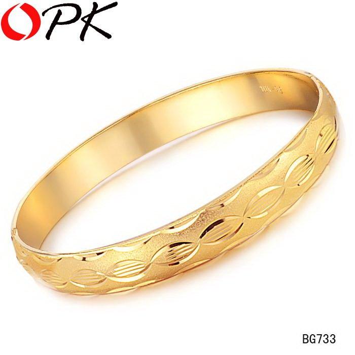 Bangle Bracelets Gold Gold Plated Bracelet Cuff