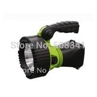 3W LED Solar Charge Flashlight Searchlight, LED spotlight + Free shipping