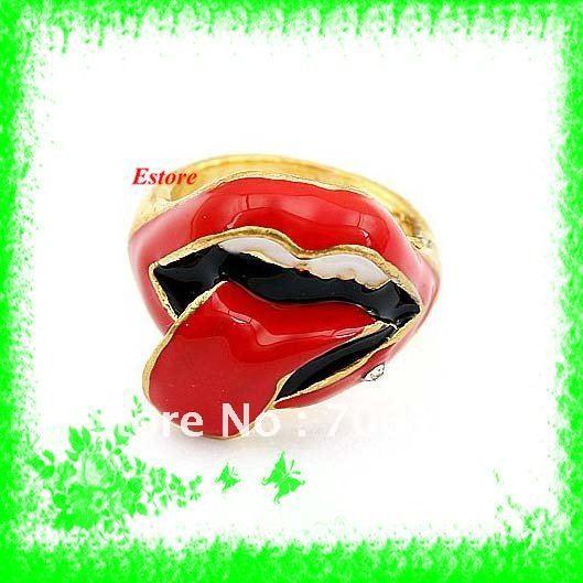 Shaped Tongue Rings Huge Tongue Shaped Ring