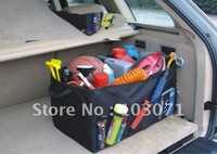 New Arrive--Car Boot Tidy Storage Bag Box Organizer Back Seat Pocket Multi-use Tools B