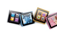 Wholesale gift free shipping 2011 Fashion 6th touch screen 8GB MP4 Player