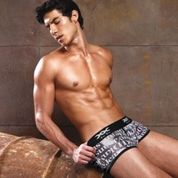 Free Shipping!!!Men's Low Rise Underwear Boxers XB-201047