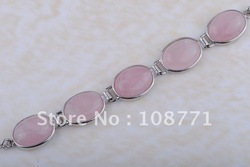 Ga01-Free Shipping wholesale fashion nice 925 sterling silver NEW brilliant gemstone bracelets(China (Mainland))