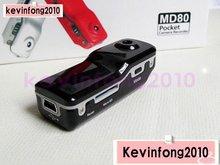 X5 free shipping NEW Mini DV DVR Sports Video Camera Webcam 30 FPS  MD80  DC Camera SAN(China (Mainland))