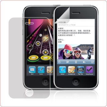 for iPhone 3GS 3G, Clear anti-scratch high transparent Screen Protector
