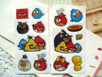 Free Shipping,600pcs/lot, Kids Cute Stickers/ Children Stationery Stickers/Cartoon design