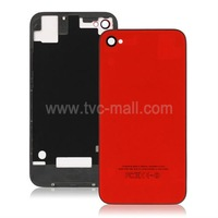 Wholesale For iPhone 4S Back Glass Parts With Logo High Quality Free Shipping
