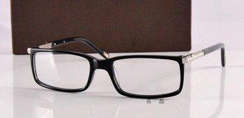 Brand eyewear acetate eye glasses frames full DU13101 black/red
