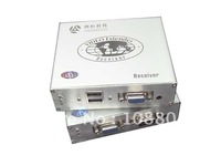 CAT5 USB KVM extender, VGA interface,USB type keyboard ,Real time display,adjustable by hand